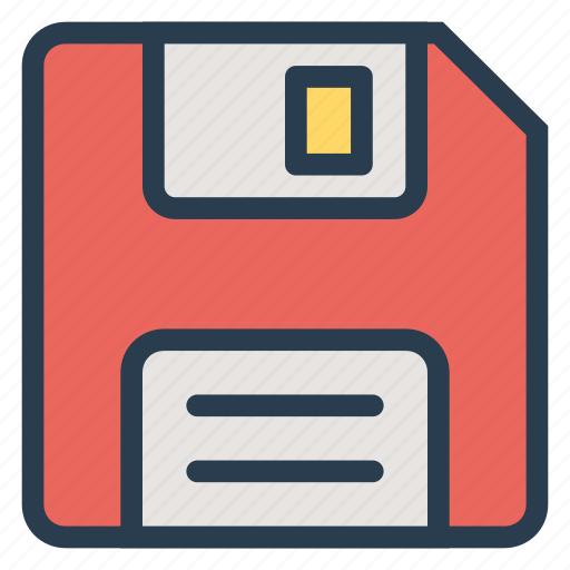 data, disk, floppy, memory, save, saved, storage icon
