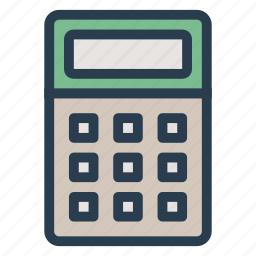 accounting, business, caculate, calculator, finance, function, mathematics icon