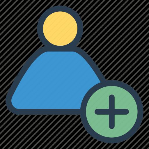 account, add, adding, avatar, medical, profile, user icon