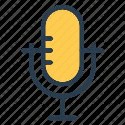 audio, mic, microphone, multimedia, record, recording, voice icon