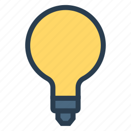 bulb, business, concept, creativity, finance, idea, science icon