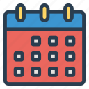 appointment, calendar, communication, date, function, month, schedule icon