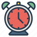 alarm, alert, bell, clock, function, time, watch icon