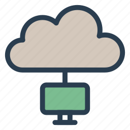 business, cloud, communicate, connect, connectivity, internet, network icon