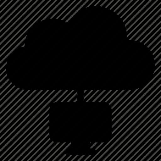 business, cloud, communicate, connect, connectivity, internet, network icon