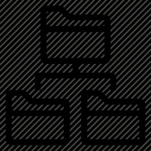 data, dataexchange, datashare, folder, internet, network, share icon