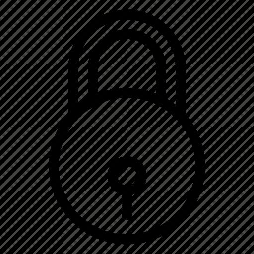 coding, custom, file, lock, padlock, password, protection icon