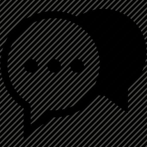 blog, bubble, chat, comment, communication, message, talk icon