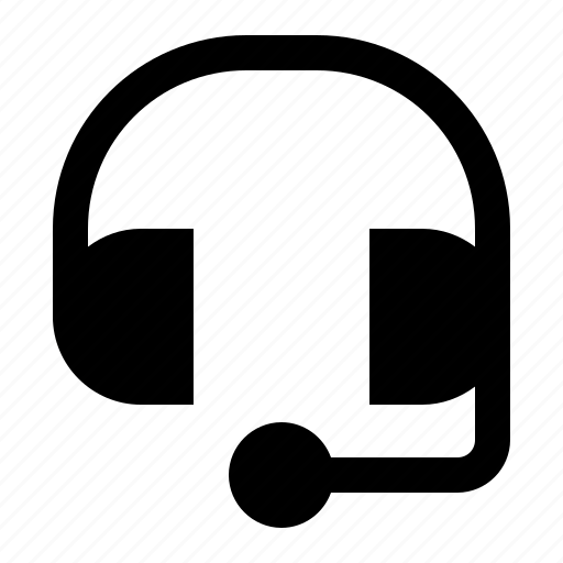 earphone, headphone, headset, support icon