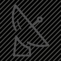 communication, monitor, navigation, network, radar, tracking icon
