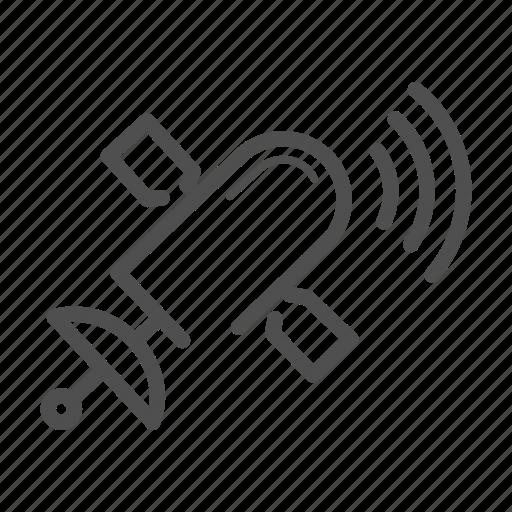 communication, network, satellite, wireless icon