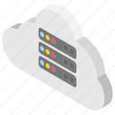 cloud data, cloud network, cloud technology, information network, networking center icon