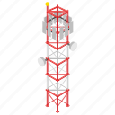 electric plant, electric tower, electrical transformer, electricity, electricity grid, transmission tower icon