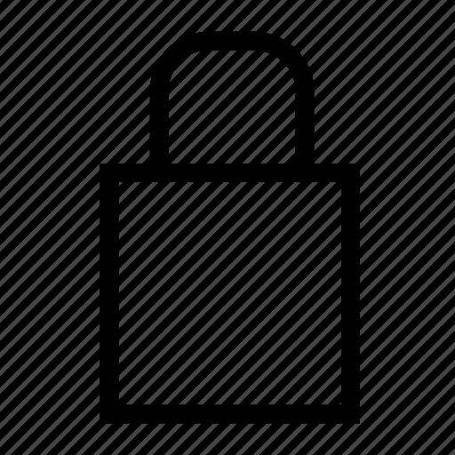 key, lock, locked, protection, safe, technology icon