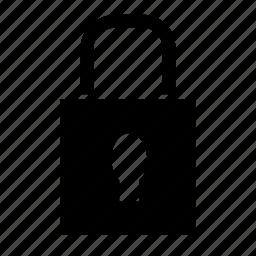 key, lock, protection icon