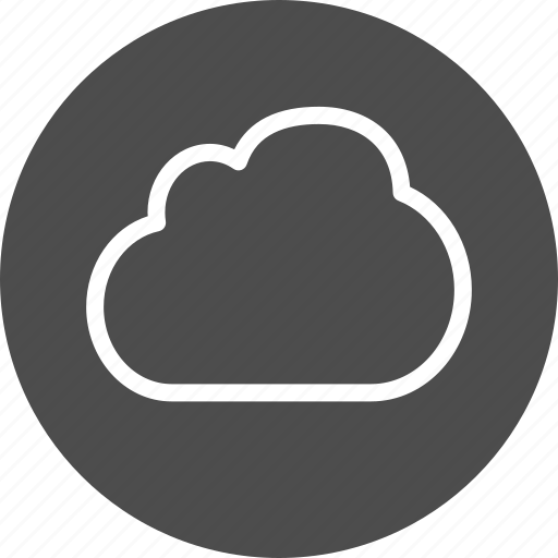 cloud, cloudy, data, storage, weather icon