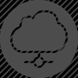cloud, communication, computing, connection, data, database, global, host, hosting, internet, network, networking, server, storage, technology, web icon