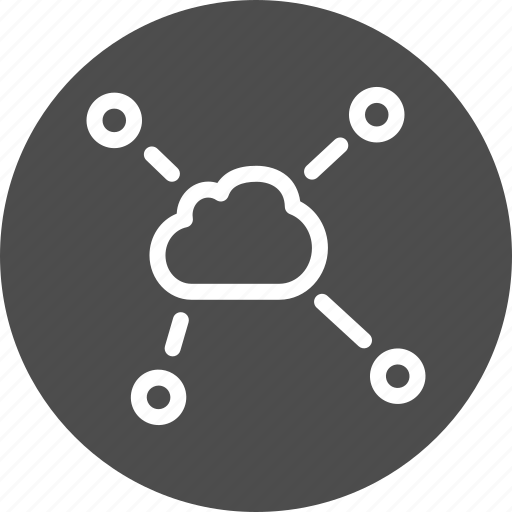 chart, charts, cloud, connection, connections, diagram, graph, net, network, relations, social, statistics, structure icon