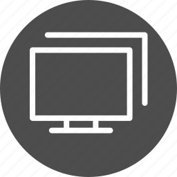 computers, connection, connections, desktop, display, displays, frameworks, internet, local, monitors, network, pc, screens, workgroup icon