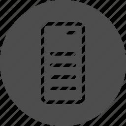 computing, datacenter, host, hoster, hosting, network, saas, server, service icon