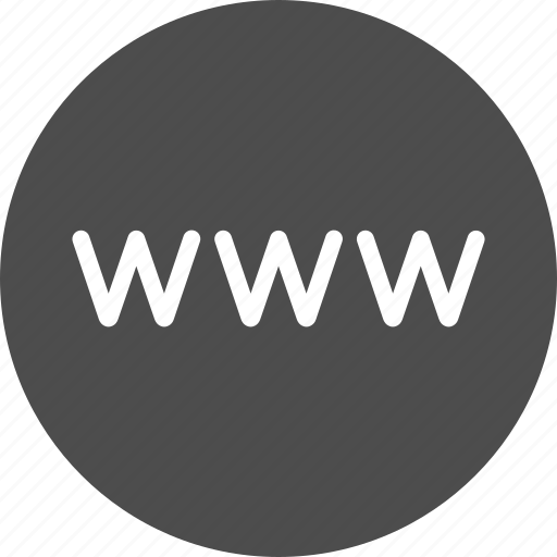 browser internet site url web website www icon - network roundline u0027 by aha soft  rh   iconfinder com
