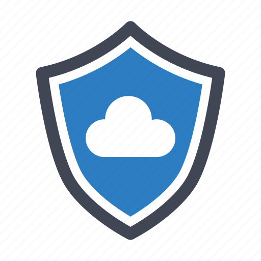 cloud, network, security icon