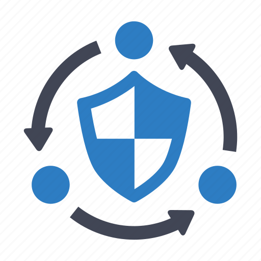 internet, network, security icon