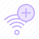 add, rss, signal, wifi, wireless icon