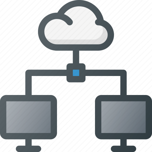 action, cloud, connection, document, network, share, sharing icon