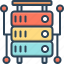 application, database, database interconnected, document, interconnected, multimedia, storage