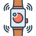 accessory, device, digital, electronic, smartwatch, technology, wearable icon
