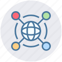 connect, internet, network, share, technology, web, world icon