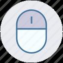 click, computer mouse, cursor, device, mouse, pointer icon