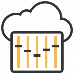 cloud, communication, controller, network icon
