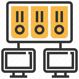 cloud, connection, data, database, network, storage, technology icon