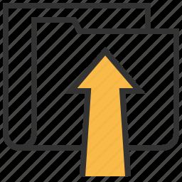 data, file, server, storage, upload icon