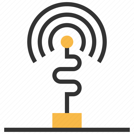 Antenna, wireless, connection, internet, network, wifi icon - Download on Iconfinder