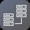 web, sharing, center, hosting, server, data, rack