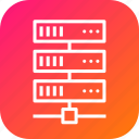 center, data, database, hosting, rack, series, web icon