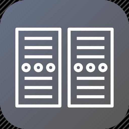 center, cpu, data, network, networking, pc, server icon