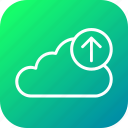 backup, cloud, data, file, ftp, upload, uploading icon