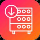 hosting, rack, databse, server
