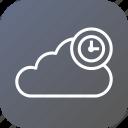 clock, timestamp, storage, reminder, data, cloud