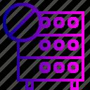 cancel, connection, databse, denied, hosting, rack, server