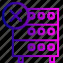 data, databse, hosting, rack, remove, server, storahe