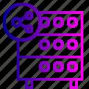 databse, file, hosting, rack, server, sharing, sync