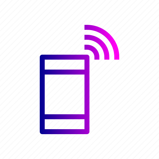 connection, mobile, network, searching, signal, wireless icon