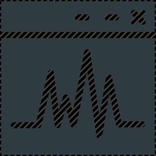 lifeline, tab, technology, wave icon