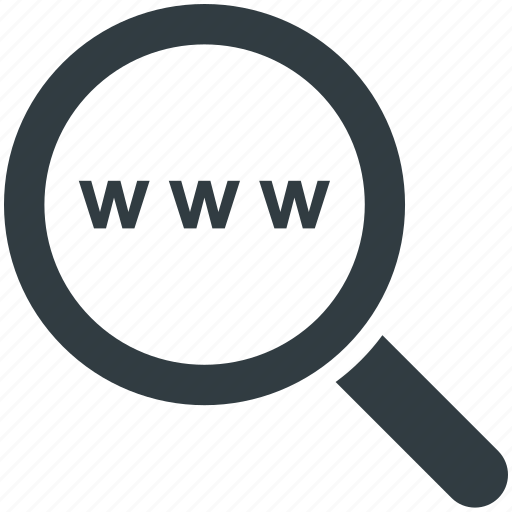 keyword, magnifier, optimization, seo, www icon