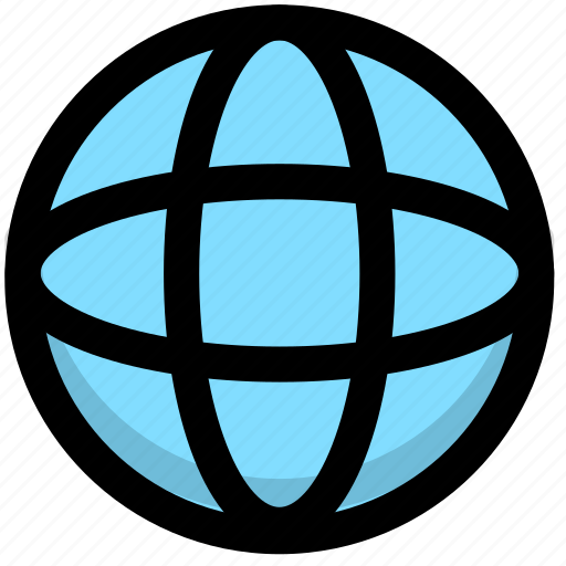 connection, earth, global, globe, internet, network, web, world icon